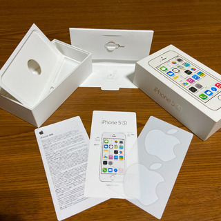 【iPhone5S 16GB 空箱】