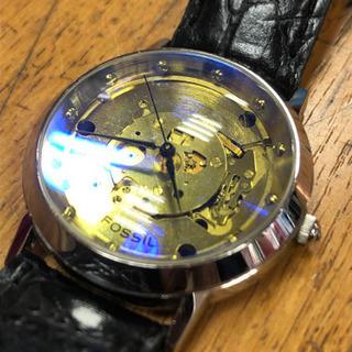 フォッシル  スケルトン レア腕時計