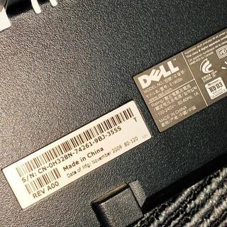 【無料】Dell 19インチモニターお譲りします - パソコン