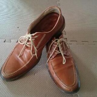 ★美品★ ビサルノ革靴25㎝。★
