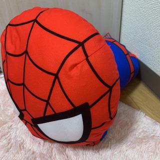 新品 タグ付き スパイダーマン ぬいぐるみ 寝転びぬいぐるみ
