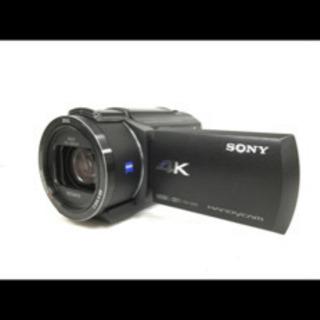 ソニー SONY ビデオカメラ FDR-AX45 4K 光学20...