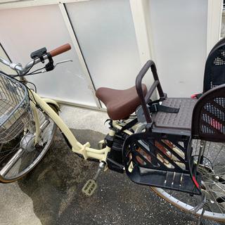 電動自転車 BRIDGESTONE 子ども乗せシート(OGK)付き