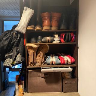 手作り 木製 靴箱 DIY