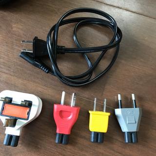 海外旅行変換プラグ - 家電