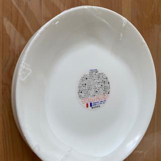 【新品未使用】白い丸いお皿