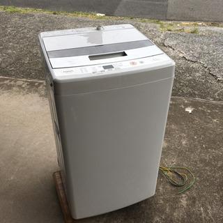 2017年製 洗濯機ハイアール4.5キロ 一人暮らしに