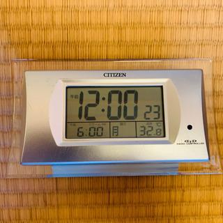 【ネット決済】シチズン 目覚し デジタル電波時計 パルデジットR...