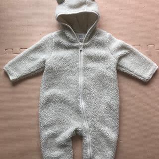 baby GAP クマ耳付きボアカバーオール、サイズ70