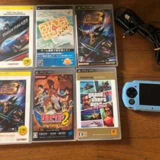 海外製PSPとカセット  9月中