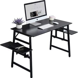PC机 デスク オフィスデスク コンピュータテーブル 組立簡単 ...