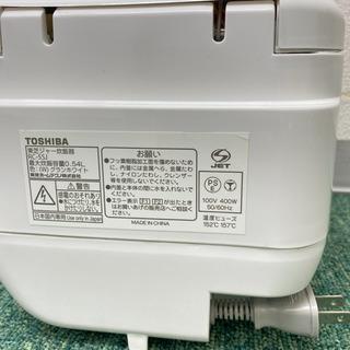 【ご来店限定】*東芝 3合炊き炊飯器 2015年製*製造番号 236251* − 大阪府
