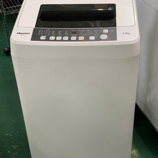 ハイセンス 洗濯機 2019年 5.5kg HW-T55C 中古