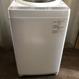 0829-102 TOSHIBA 洗濯機 AW-5G6 2…