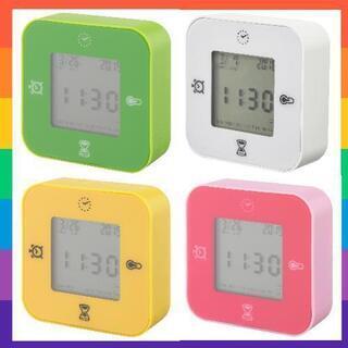 2個セットIKEA クロッキス 温度計 置時計  IKEA アラーム