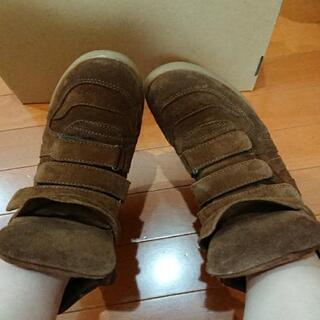 ブーツ インヒール 靴