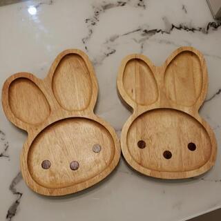 ボヌール木製ランチトレー