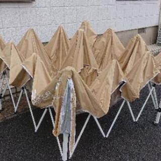 (商談中)フィールドア3m×3mワンタッチタープ サイドシート付き