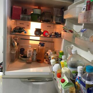 5ドア 大容量 冷蔵庫 動作品  無料 - 売ります・あげます