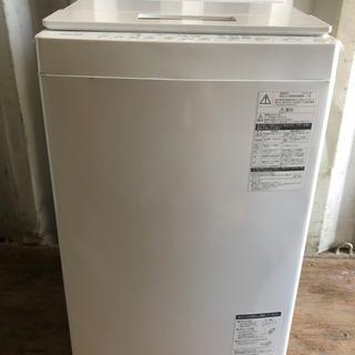 0819-102 TOSHIBA 洗濯機 AW-7D6 2018年製 7kg ②の画像