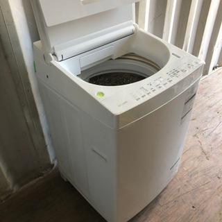 0819-102 TOSHIBA 洗濯機 AW-7D6 2018年製 7kg ② - 金沢市