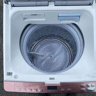 SHARP シャープ 洗濯機 8.0kg ES-PX8C-P 電気洗濯乾燥機 8kg 乾燥機 プラズマクラスター ES-PX8C 2018年製 動作OK USED 中古 - 碧南市