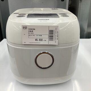 TOSHIBA 炊飯器 RC-5XE5  3合 2017年製