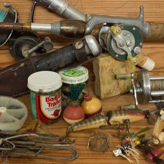ご自宅で不要になった釣り道具、何でも買取ます!