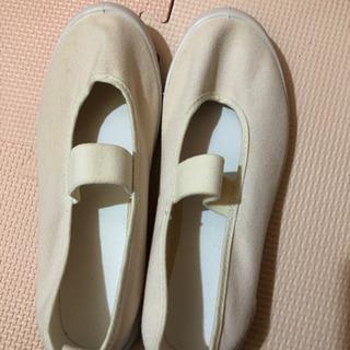 21センチ バレーシューズ  新品  上靴の画像