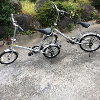 折りたたみ自転車2台