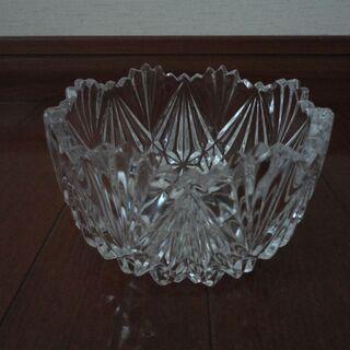 ガラスのデザート皿 5皿セット(中古)