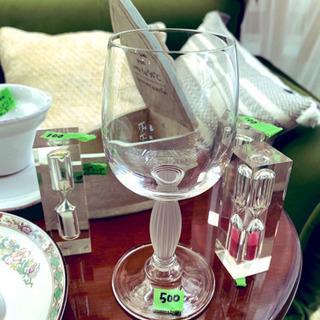 アンティーク風ワイングラス