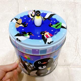 ペンギン お菓子 空き缶