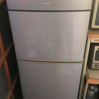 シャープ製・冷凍冷蔵庫 140L - 取りに来られる方、差…