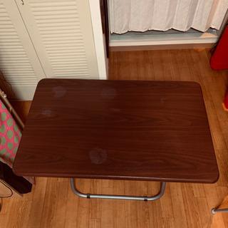 【お取引決定しました】折り畳みテーブル - 大阪市