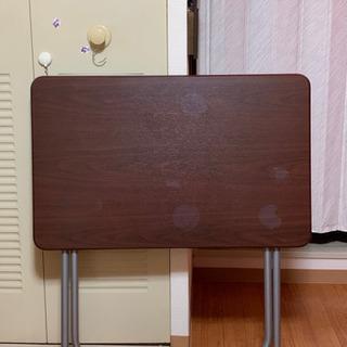 【お取引決定しました】折り畳みテーブル - 家具