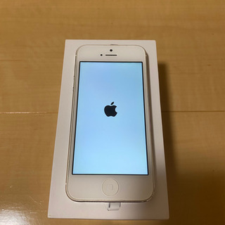 iPhone5 64GB シルバー