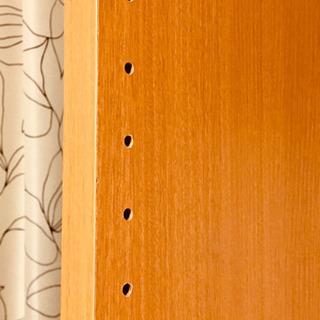 【お値下げしました】カラーボックスサイズ オープン ウッドシェルフ 木製ラック パーテーションにも - 奈良市