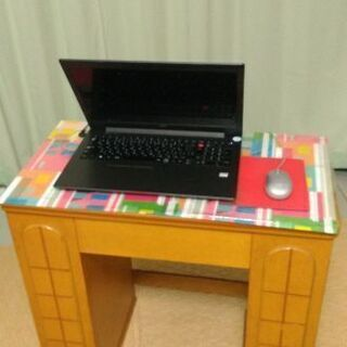 鏡台 ドレッサー 姿見 パソコンデスクとしても - 家具