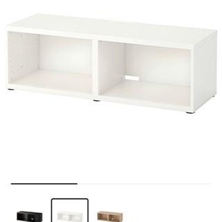 値下げ イケア IKEA ほぼ新品 テレビ台 幅120cm 現地引取歓迎 - 家具