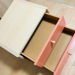 高級輸入家具 サーモンピンクのチェスト ⭐︎ インテリア ファニチャー - 奈良市