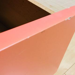 高級輸入家具 サーモンピンクのチェスト ⭐︎ インテリア ファニチャー − 奈良県