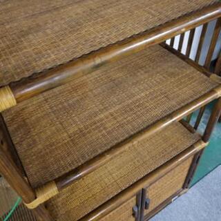 籐のラック - 家具