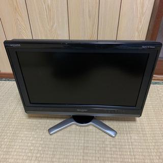 2009年製シャープ液晶カラーテレビ20インチ LC-20…