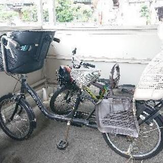 【お話し中】前後子乗せ自転車