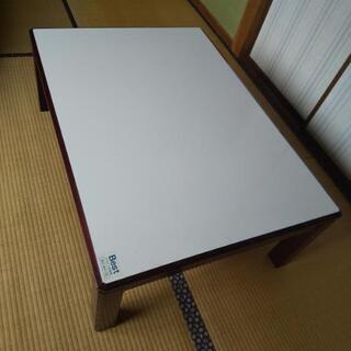 【値下げ】コタツテーブル(天板リバーシブル、コタツ無し)
