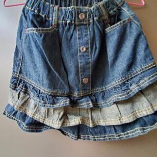 150cm &130cm デニムスカート 2サイズあります。 − 北海道