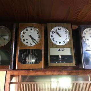 古い時計 4点セット