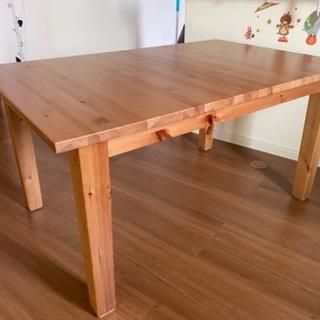 IKEA伸縮ダイニングテーブル お相手決まりました☆