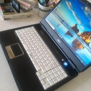 まだまだ使える富士通ビジネスパソコンWindows10/15型テ...